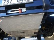 zakrytí podvozku kryty motoru a převodovky Asfir
