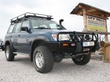 Nissan Patrol kompletní úprava vozu na přání zákazníka