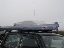 Lada Niva výroba držáku a montáž ARB markýzy